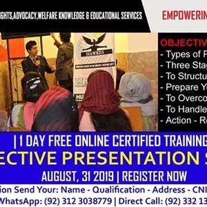 Effective Presentation Skills - Free Online Certified Training