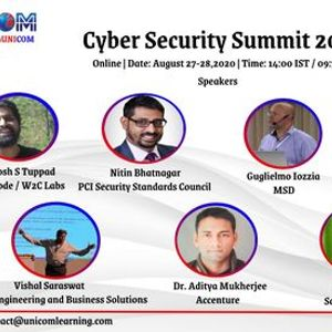 Cyber Security Summit 2020