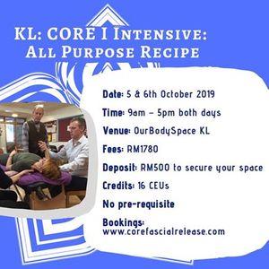KL Malaysia CORE I All Purpose Recipe