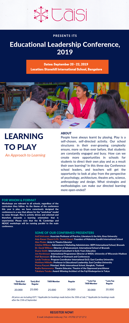 Learning to Play - an Approach to Learning