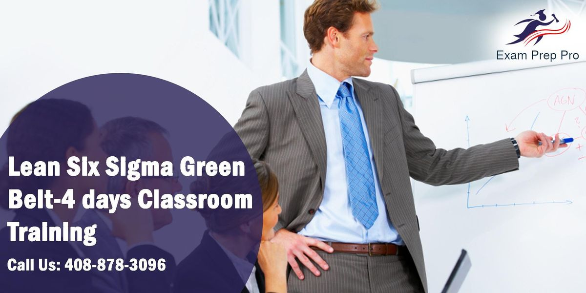 Lean Six Sigma Green Belt(LSSGB)- 4 days Classroom Training Columbus OH