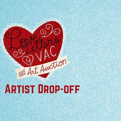Love Letters for VAC Art Auction Drop-off