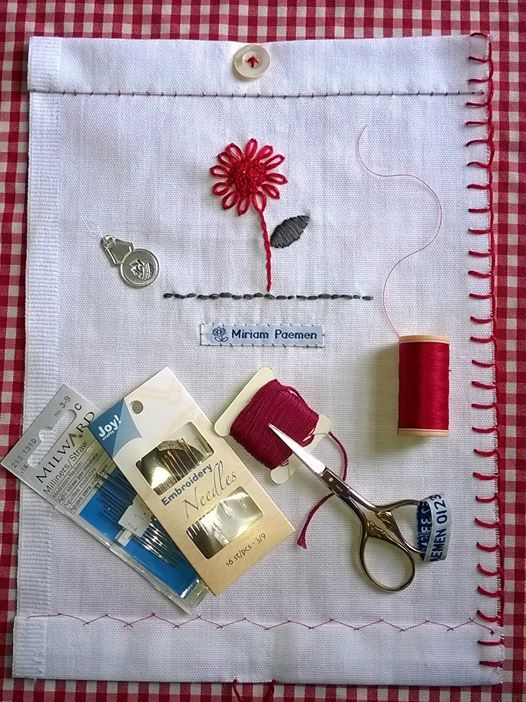 Hand Sewing workshop - Utility & Embroidery stitches