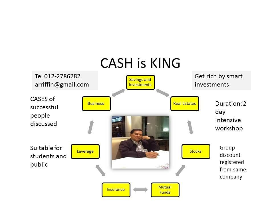 CASH IS KING   Get rich by smart investment