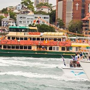 Harbour Cruise Australia Day