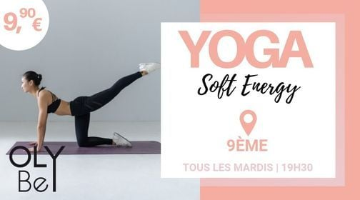 YOGA Soft Energy   Event in Paris   AllEvents.in