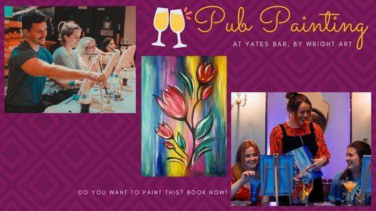 Pub Painting - Yates Doncaster