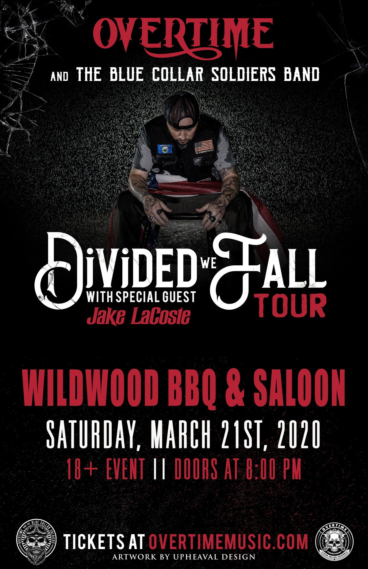 OverTime 'Divided We Fall Tour', 1 May | Event in Iowa City | AllEvents.in