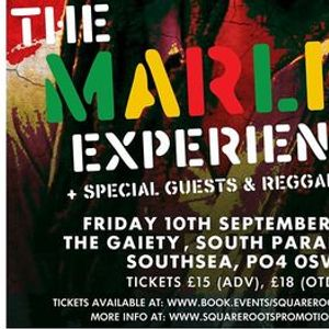 The Marley Experience at The Gaiety Southsea South Parade Pier