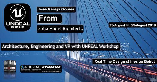 Zaha Hadid Architecture and VR with Unreal Engine Workshop at BIM