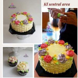 Hands On Cake Decoration class (Buttercream) - 1 day Class