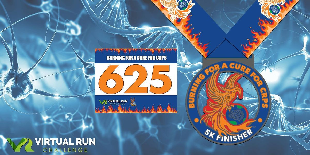 2019  Burning for a Cure for CRPS Virtual 5K Run Walk - San Diego