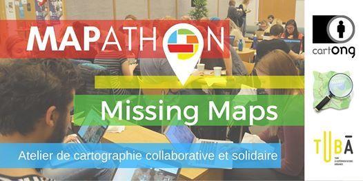 Mapathons Missing Maps  Lyon Le Tub