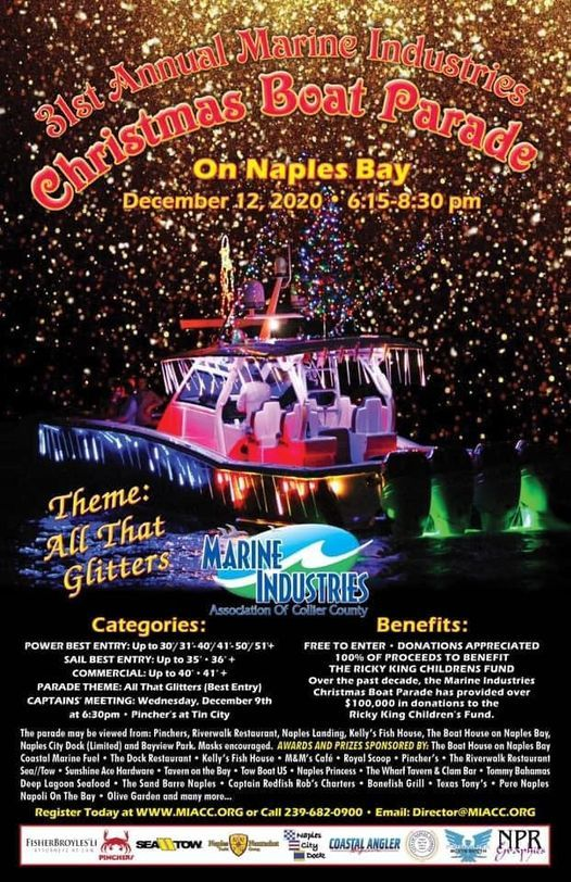 Naples Christmas Parade 2020 Naples Christmas Boat Parade, City of Naples City Dock, 12 December