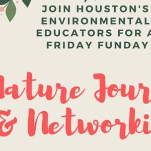 Networking and Nature Journaling