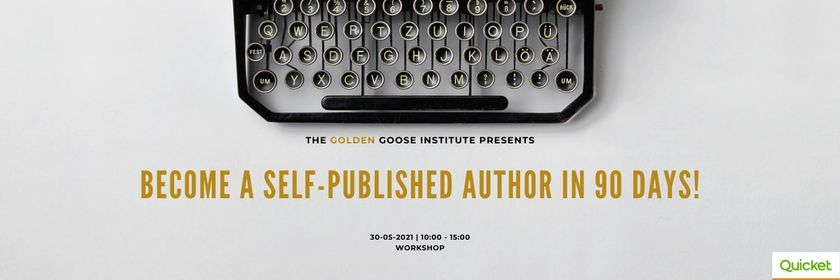 How to Write and Self-Publish a Non-fiction Book in 90 days! (Face to Face), 30 May | Event in Edenvale | AllEvents.in