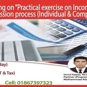 """Online training on &quotIncome Tax return submission procedure"""""""