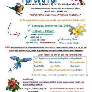 Fall Bird Expo