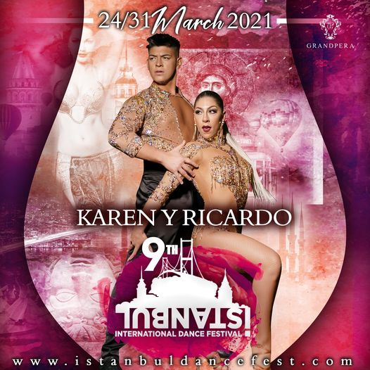 Karen y Ricardo I Istanbul Dance Festival 2021, 26 March | Event in Istanbul | AllEvents.in