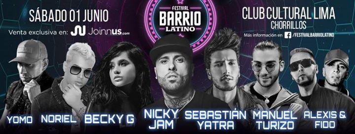 Festival Barrio Latino  Club Cultural Lima