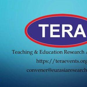 20th ICTEL 2021  International Conference on Teaching Education & Learning 23-24 October Dubai