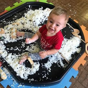 Play Together Messy Play - Exploring Our Senses