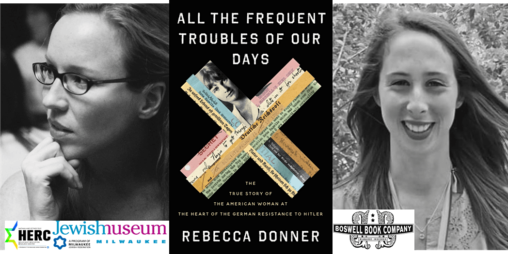 Rebecca Donner and ALL THE FREQUENT TROUBLES OF OUR DAYS - now virtual | Online Event | AllEvents.in