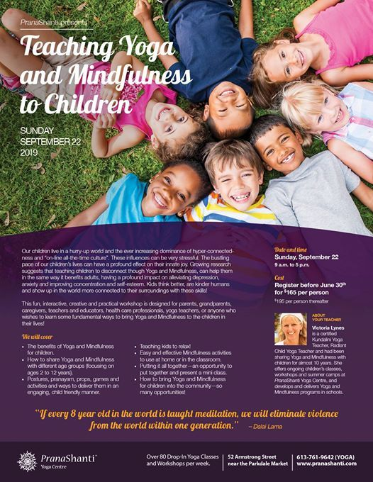 Teaching Yoga and Mindfulness to Children with Victoria Lynes