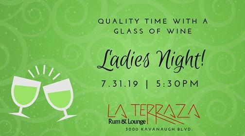 Ladies Night At La Terraza Rum Lounge Little Rock