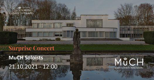 MuCH Surprise Concert, 21 October | Event in Waterloo | AllEvents.in