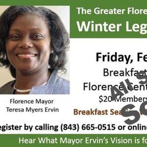 Greater Florence Chambers Winter Legislative Breakfast ...