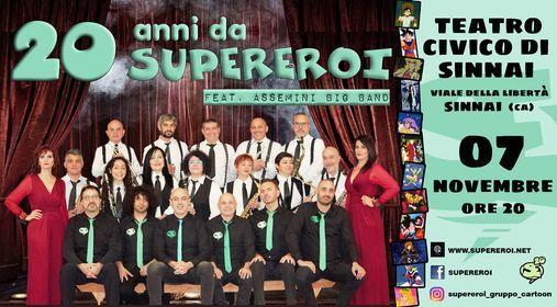 20 Anni da Supereroi, 7 November | Event in Selargius | AllEvents.in