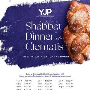 Shabbat Dinner on Clematis