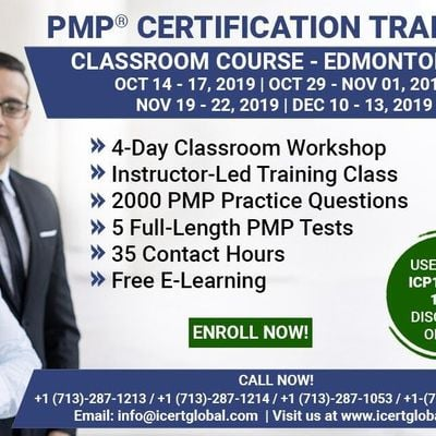 PMP Certification Training Course in Edmonton AB Canada
