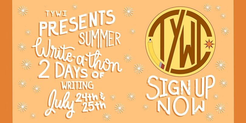 The Young Writers Initiative's Summer Writeathon | Online Event | AllEvents.in