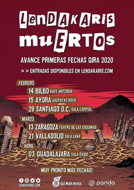 Lendakaris Muertos - Guadalajara (ES)