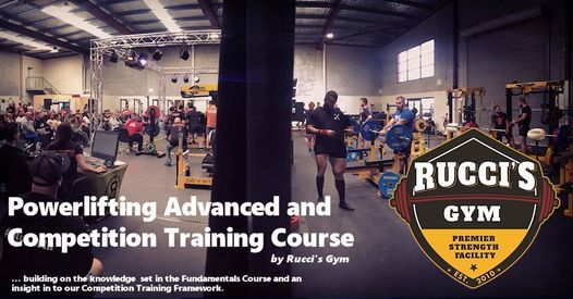Powerlifting Advanced Course, 27 March | Event in Perth | AllEvents.in