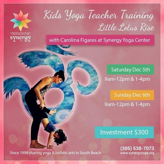 Kids Yoga Teacher Training~ Little Lotus Rise, 13 February | Event in Miami Beach | AllEvents.in