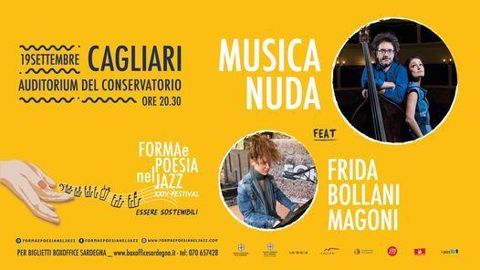 Musica Nuda feat. Frida Bollani Magoni   19 settembre   Auditorium del Conservatorio - Cagliari, 19 September