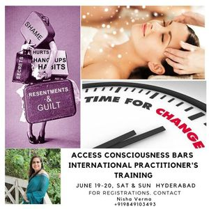 Access Consciousness Bars Practitioner Training
