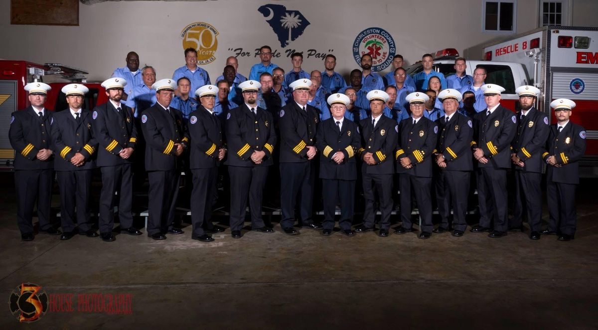 Charleston County Volunteer Rescue Squad - 2nd Annual Oyster Roast