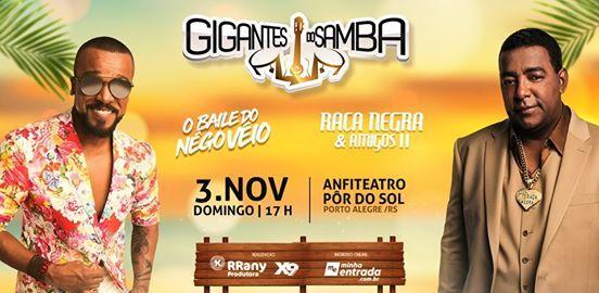 Gigantes do Samba Baile do Ngo Vio  Raa Negra