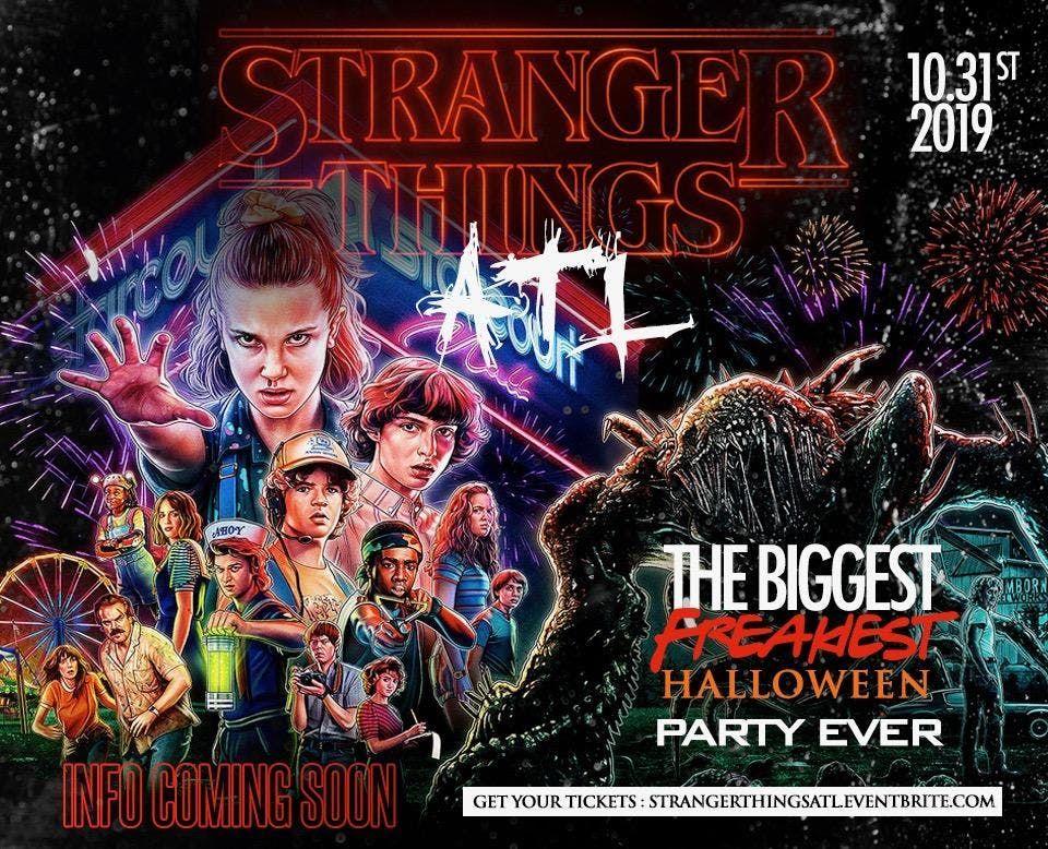 StrangerThingsATL Halloween Costume Party