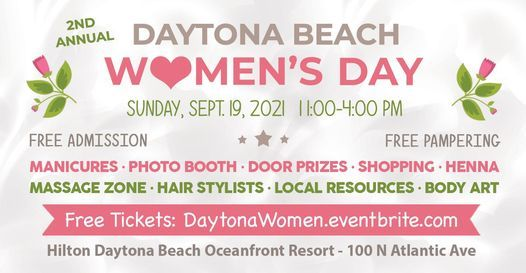 Daytona Beach Women's Day, 19 September | Event in Daytona Beach | AllEvents.in