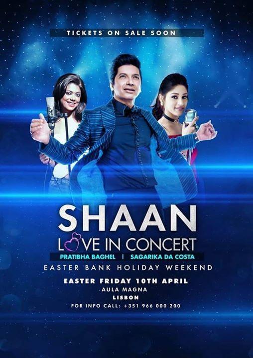 Shaan Love in Concert - Lisboa