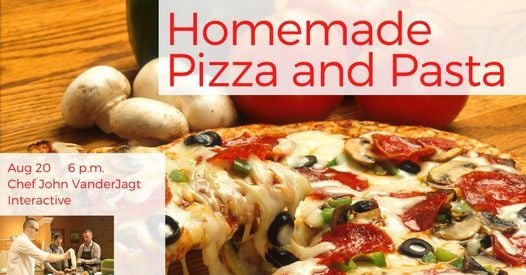 Homemade Pizza and Pasta: Interactive Cooking Class, 20 August   Event in Holland   AllEvents.in