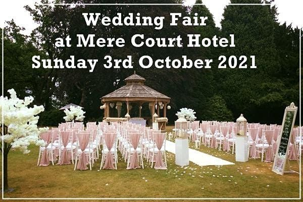 Mere Court Hotel Wedding Fair, 3 October | Event in Knutsford, Cheshire | AllEvents.in