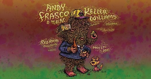 Andy Frasco & The U.N. and Keller Williams at Red Rocks, 27 May | Event in Morrison | AllEvents.in