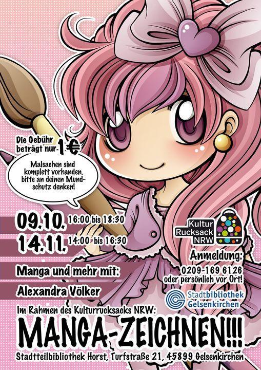 Manga-Zeichnen mit Alexandra Völker, 14 November | Event in Gelsenkirchen | AllEvents.in