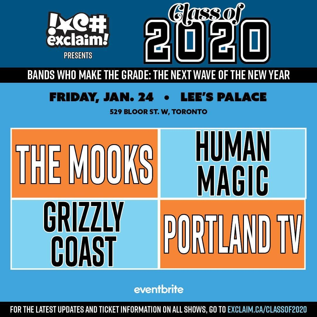 Class of 2020TO5 The Mooks Human Magic Grizzly Coast Portland TV